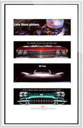 Chevrolet Cruise Weekend 2002-04 Framed Collector Set