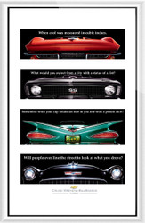 Chevrolet Cruise Weekend 2002-04 Framed Collector Set III