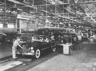 1948 Cadillac Poster