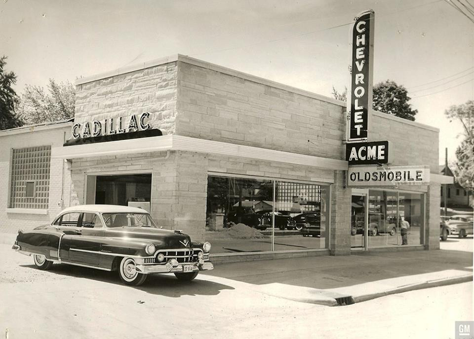 Acme Chevrolet Oldsmobile Cadillac Dealership Poster ...