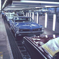 Pontiac Assembly Plant 1966 Poster