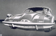 Pontiac Twin Streak Concept Poster