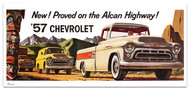 1957 Chevy Truck Billboard Banner