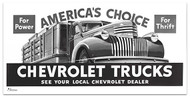1946 Chevy Truck Billboard Banner