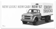 1967 Chevy Truck Billboard Banner II