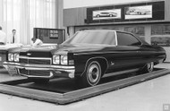 1970 Chevrolet Studio Model Poster