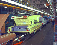 Chevrolet Impala Production Poster
