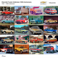 Chevrolet Trucks 1961 - 1980 Collection Poster