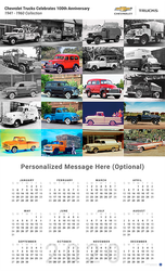 Chevrolet Trucks 1941 - 1960 Collection 2020 Wall Calendar