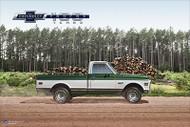 Chevy Trucks Centennial 1967  - 1972 Art Poster
