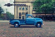 Chevy Trucks Centennial 1947 - 1955  Art Poster