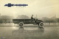 Chevy Trucks Centennial 1918 - 1939 Art Poster