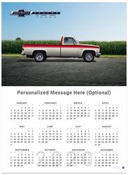 Chevy Trucks Centennial 1973 - 1987 2020 Wall Calendar