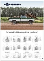 Chevy Trucks Centennial 1967 - 1972 2020 Wall Calendar