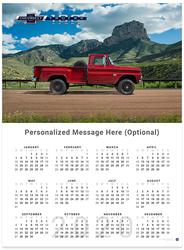 Chevy Trucks Centennial 1960 - 1966 2020 Wall Calendar
