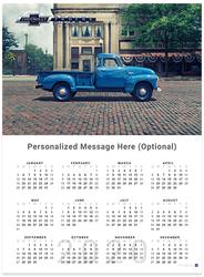 Chevy Trucks Centennial 1947 - 1955 2020 Wall Calendar