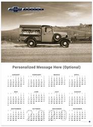 Chevy Trucks Centennial 1939 - 1946 2020 Wall Calendar