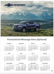 Colorado Centennial 2020 Wall Calendar