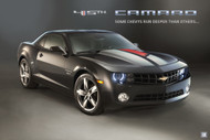 2011 Chevrolet Camaro 45th Edition Poster