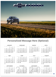 Silverado on the Road Centennial 2020 Wall Calendar
