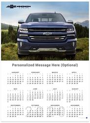 Silverado Front View Centennial 2020 Wall Calendar