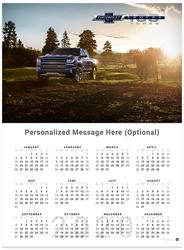 Silverado Centennial II 2020 Wall Calendar