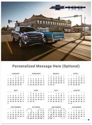 Silverado and C10 Centennial II 2020 Wall Calendar