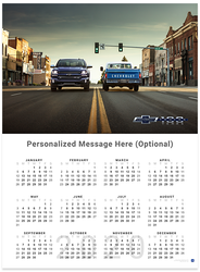 Silverado and C10 Centennial 2020 Wall Calendar