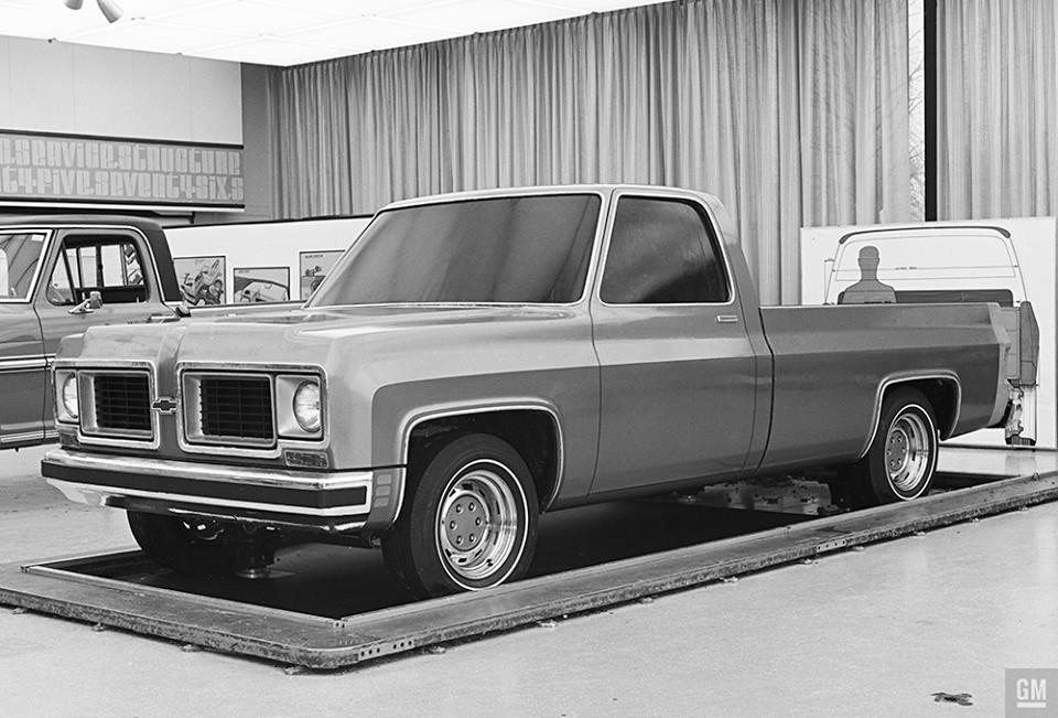 1973 Chevy Truck >> 1973 Chevy Pickup Concept Poster