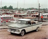 1961 Chevrolet Fleetside Truck  Poster