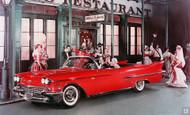 1958 Cadillac Ad Poster