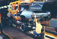 1970 Chevrolet Monte Carlo Assembly Plant Poster
