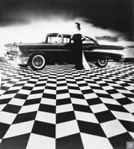 1957 Chevrolet Bel Air Ad Poster