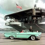 1958 Chevrolet USS Hancock Poster