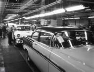 1956 Chevrolet Flint Assembly Plant Poster