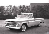 1961 GM Truck Studio Concept Poster