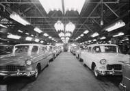 1955 Chevrolet Kansas City Assembly Plant Poster
