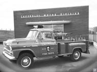 1958 Chevrolet Fire Dept Poster
