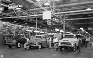 GMC Pontiac Assembly Plant 1957 Poster