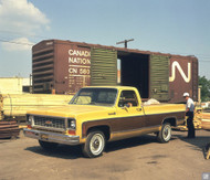 1973 Chevrolet C-10 Poster