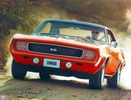 1969 Camaro SS Ad Poster
