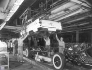 1955 Pontiac Assembly Line Poster