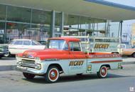 1959 Nickey Chevrolet Poster