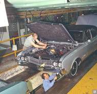 Oldsmobile Lansing Assembly Plant Poster