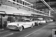 1955 Buick Assembly Plant Poster