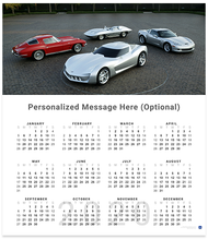 A Gathering of Corvette StingRays 2020 Wall Calendar