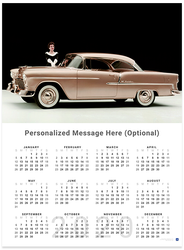 Chevrolet Bel Air 2020 Wall Calendar