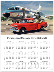 Chevy Pickup 2020 Wall Calendar