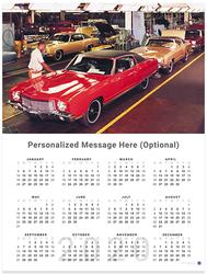 Chevrolet Monte Carlo 2020 Wall Calendar
