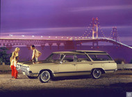 1965 Oldsmobile Vista Cruiser Wagon Poster